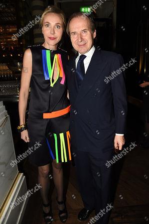 Michaela de Pury and Simon de Pury