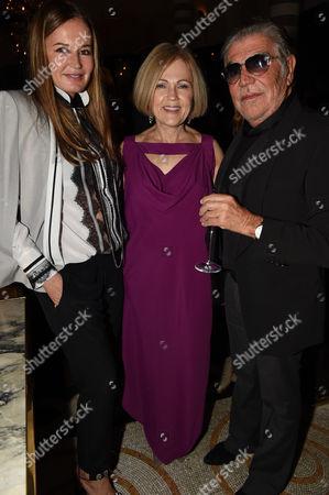 Eva Cavalli, Gillian de Bono and Roberto Cavalli