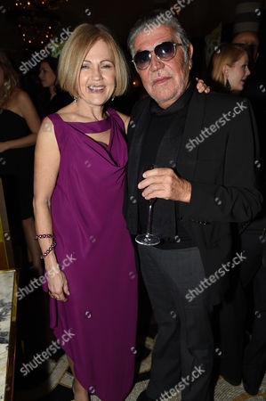 Gillian de Bono and Roberto Cavalli