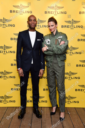 Editorial photo of Breitling launches 'The Emergency II' on HMS Belfast, London, Britain - 25 Nov 2014