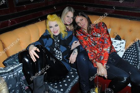 Pam Hogg, Lee Starkey and guest