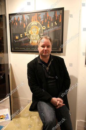Editorial image of Artist Laurent Durieux show at Mondo Graphics gallery, Paris, France - 26 Nov 2014