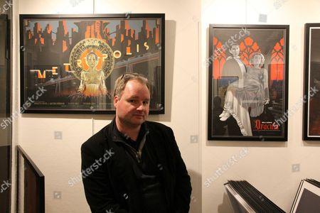 Editorial photo of Artist Laurent Durieux show at Mondo Graphics gallery, Paris, France - 26 Nov 2014