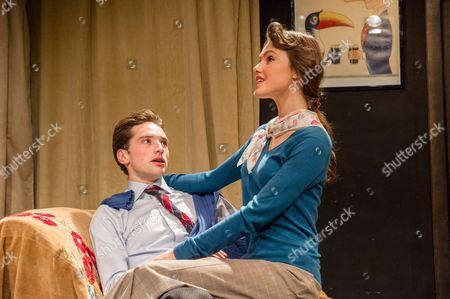 Editorial photo of 'The Green Bay Tree' play at Jermyn Street Theatre, London, Britain - 26 Nov 2014