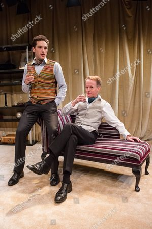 Editorial picture of 'The Green Bay Tree' play at Jermyn Street Theatre, London, Britain - 26 Nov 2014
