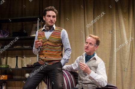 Christopher Leveaux (Julian) and Richard Stirling (Mr Dulcimer)