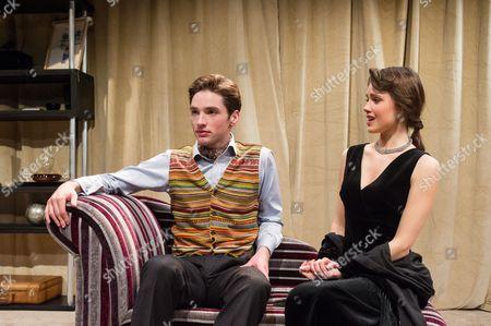 Stock Picture of Christopher Leveaux (Julian), Poppy Drayton (Leonora)