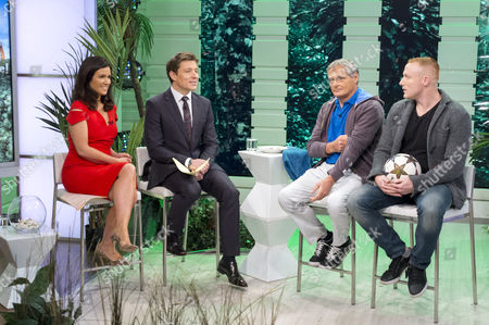 Stock Image of Susanna Reid and Ben Shephard with Kevin Moore and Dan Magness