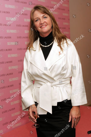 Stock Picture of Angela Rowley (Estee Lauder general manager)