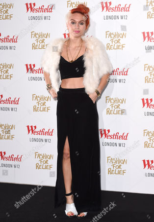 Editorial picture of Naomi Campbell's Fashion For Relief Pop-Up Shop launch party, Westfield London, Britain - 27 Nov 2014