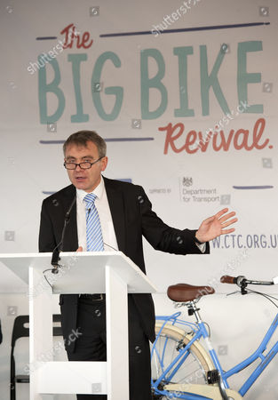 Editorial photo of Cycling Summit, Bristol, Britain - 27 Nov 2014