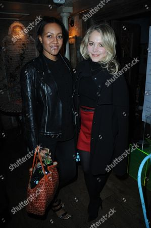 Alice Casely-Hayford and Poppy Jamie