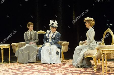 Laura Rogers as Lady Chiltern, Patricia Routledge as Lady Markby, Jemma Redgrave as Mrs Cheveley