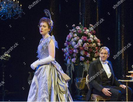 Laura Rogers as Lady Chiltern, Robert Bathurst as Sir Robert Chiltern