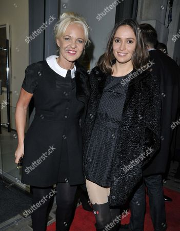 Amanda Eliasch and Sasha Volkova