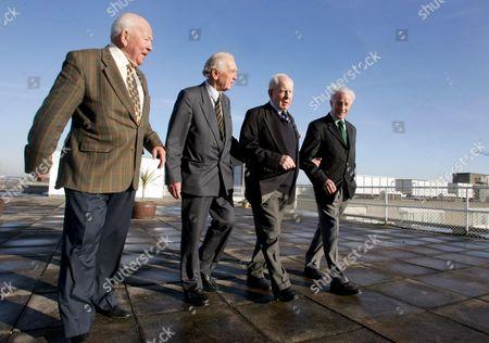 (LtoR) Karl Mullen, Michael O'Flanagan, Jim McCarthy and Jack Kyle