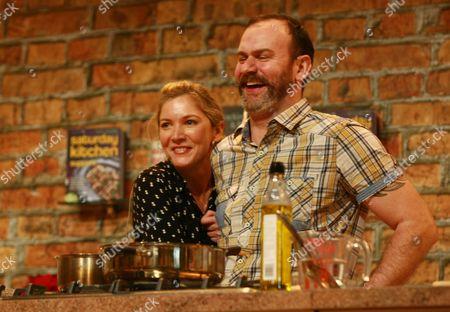 Lisa Faulkner and Glynn Purnell