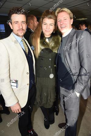 Hamish Jenkinson, Amber Nuttall and Al Gosling