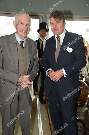 Stock Picture of Guest and Lord Carnarvon
