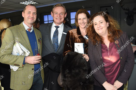 Stock Image of Martin Clunes, Philippa Braithwaite and guests