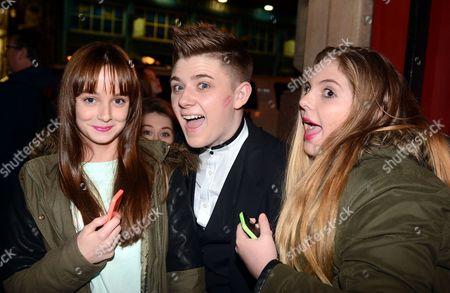 Nicholas McDonald with fans