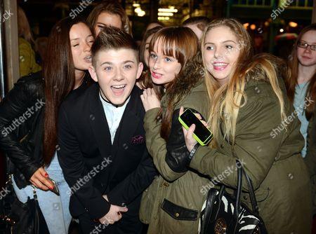 Nicholas McDonald meets fans