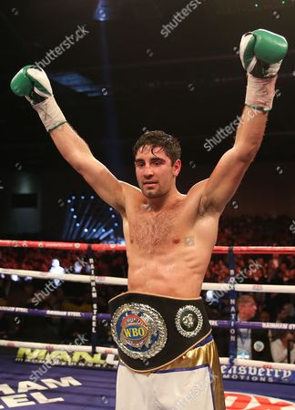 The Vacant WBO European Super-middleweight Championship Frank Buglioni  Wins on  Points over (97-92, 97-93, 97-92)  Andrew Robinson