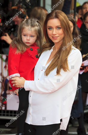 Stock Image of Una Foden and daughter Aoife Belle Foden