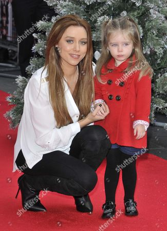 Stock Photo of Una Foden and Aoife Belle Foden