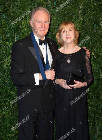 Tim Pigott-Smith and Pamela Miles