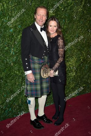 Iain Glen and Charlotte Emmerson