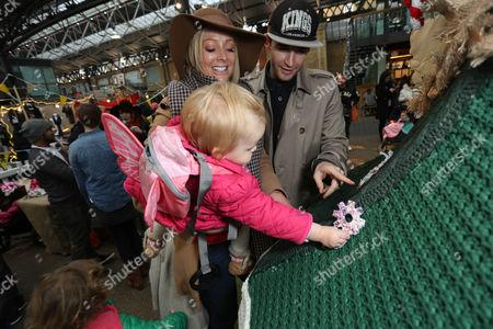 Editorial picture of LittleBigPlanet handmade Christmas Tree launch, Spitalfields Market, London, Britain - 30 Nov 2014