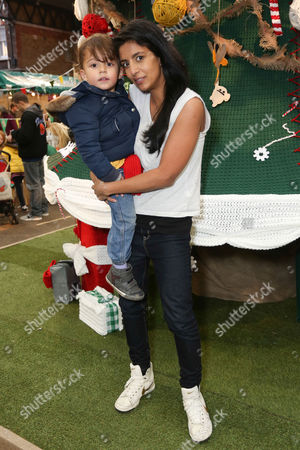 Covey Brooker Huq and Konnie Huq helped PlayStation® decorate the world's biggest handcrafted Christmas tree to celebrate the release of LittleBigPlanet™3, out now on PlayStation®4 and PlayStation®3
