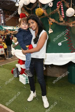 Editorial photo of LittleBigPlanet handmade Christmas Tree launch, Spitalfields Market, London, Britain - 30 Nov 2014