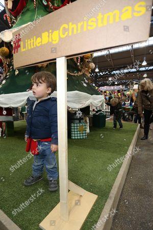 Editorial image of LittleBigPlanet handmade Christmas Tree launch, Spitalfields Market, London, Britain - 30 Nov 2014