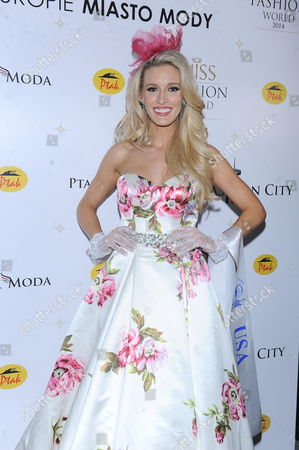 Editorial image of Miss Fashion World, Rzgow City, Poland - 29 Nov 2014