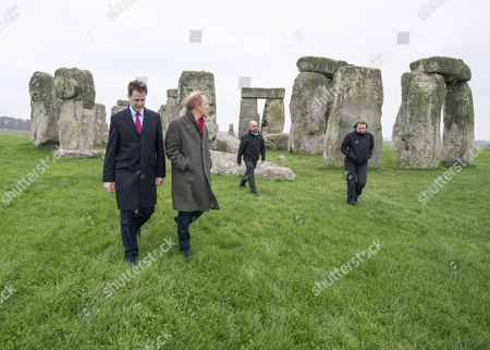 Editorial picture of Tunnel past Stonehenge announced as government plans £15bn roads upheaval, Wiltshire, Britain - 01 Dec 2014