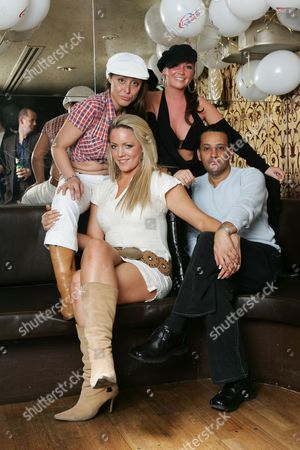 Editorial photo of Cheeky Girls Party, London, Britain - 17 Nov 2004