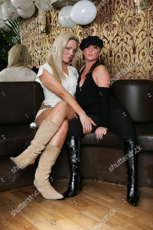 Editorial picture of Cheeky Girls Party, London, Britain - 17 Nov 2004