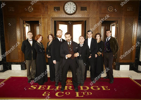 Amy Beth Hayes as Kitty Hawkins, Cal MacAninch as Mr Thakeray, Amanda Abbington as Miss Mardle, Tom Goodman Hill as Mr Grove, Jeremy Piven as Harry Selfridge, Ron Cook as Mr Crabb, Trystan Gravelle as Victor Colleano, Aisling Loftus as Agnes Towler and Gregory Fitoussi as Henri.