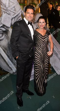 Stock Picture of Manu Bennett and Karin Horen