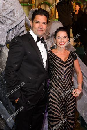 Stock Image of Manu Bennett and Karin Horen