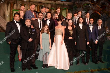 James Nesbitt, Billy Boyd, Stephen Fry, Luke Evans, Andy Serkis, John Bell, Martin Freeman Manu Bennett, Sylvester McCoy, Lee Pace, Orlando Bloom, Peter Jackson, Sir Ian McKellen, Richard Armitage, Benedict Cumberbatch and Adam Brown Evangeline Lilly, Philippa Boyens, Ryan Gage, Aidan Turner and Jed Brophy