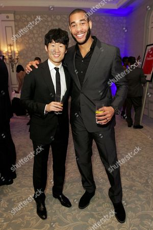 Ji-Sung Park and guest