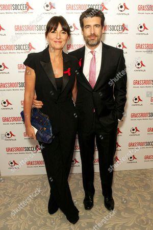 Stock Photo of Davina McCall and Matthew Robertson