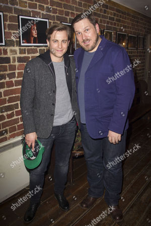 Kevin Bishop and Marc Wootton attend the after party