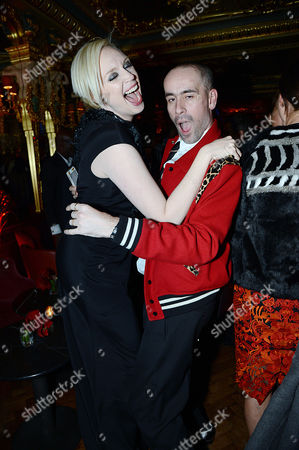 Editorial photo of Edward Enninful party in Oscar Wilde Bar, Hotel Cafe Royal, London, Britain - 01 Dec 2014