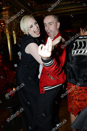 Editorial image of Edward Enninful party in Oscar Wilde Bar, Hotel Cafe Royal, London, Britain - 01 Dec 2014