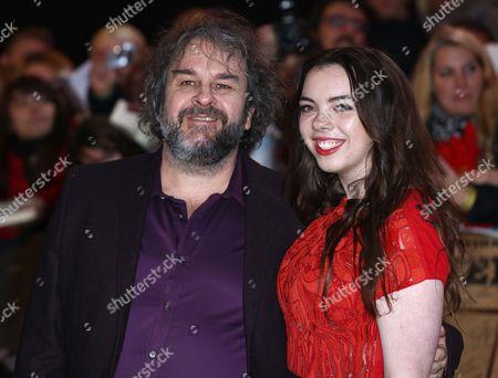 Peter Jackson and Katie Jackson