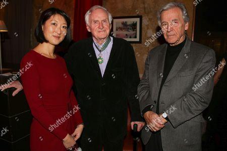 French Culture Minister Fleur Pellerin, John Boorman and Costa Gavras